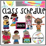 Class Schedule Clip Art