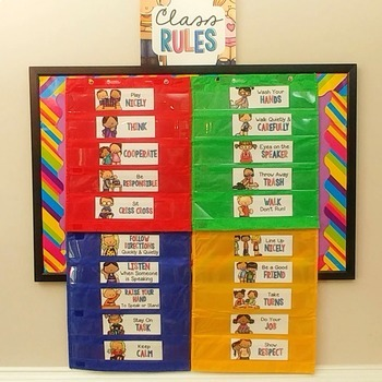 Classroom Schedule Cards for Classroom Management - EDITABLE