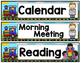 Class Schedule Cards-Train Theme