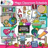 Class Schedule Clip Art: School Graphics {Glitter Meets Glue}