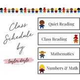 Class Schedule Icons