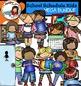 Class Schedule Kids Clip Art Mega Bundle