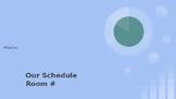 Class Schedule Powerpoint