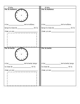 Class Schedule Spanish