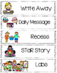 SFA KinderCorner class schedule