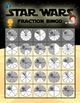 Class Set of Star Wars Inspired Fraction Bingo Cards