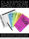 Class Shout-Outs: Editable Positive Parent Communication