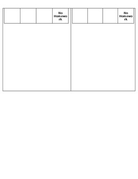 Class Store: Student order form