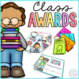 End of the Year Student Certificate Awards & Reward Tags - EDITABLE