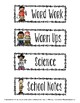 Class Subject Signs-Free Version