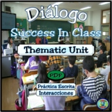 Success In Class Dialogue Thematic Activities - Cómo tener éxito en clase