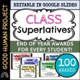 Class Superlatives | EDITABLE | End of the Year | Distance