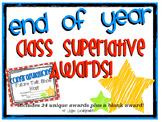 Class Superlatives: End of Year Awards