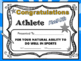 End of the Year Awards Certificates EDITABLE - Candy Awards - Superlatives