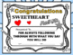 Class Superlatives, End of the Year Awards EDITABLE Certif