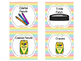 Class Supply Labels {Rainbow Chevron}