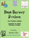Class Survey Data Project (Two Versions for Differentiation)