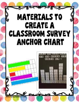 Class Survey Zoo Animals Anchor Chart