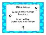Class Surveys for Adult ESL