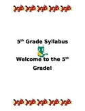 Class Syllabus - Asian Dragon Theme