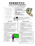Class Syllabus Course Description and Expectations Handout