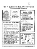 Class Syllabus for 8th Grade Language Arts