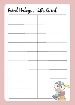 Class Teacher Planner 2018 Day to a Page Undated