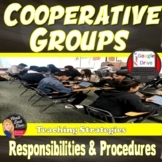 COOPERATIVE GROUPS Student  Responsibilities and Procedures