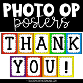 Thank You Photo Op Posters Free