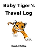 Class Tiger Mascot Journal