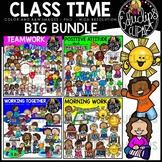 Class Time Clipart Big Bundle {Educlips Clipart}