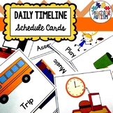 Visual Schedule for Autism and Special Education Classrooms with Symbols