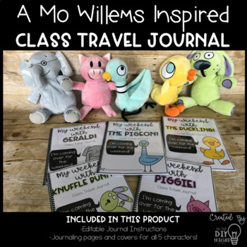 Class Travel Journal (Mo Willems Inspired)