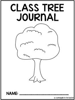 Class Tree Journal