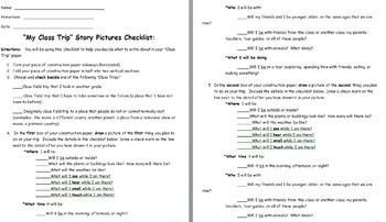 Class Trip Picture Checklist