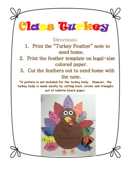 Class Turkey Feather