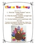 Class Turkey Feather