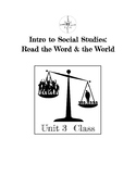 Critical Literacy: Class Unit