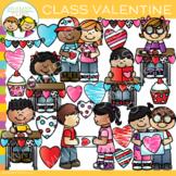 Class Valentine Clip Art