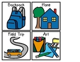 Class Visual Schedule