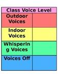 Class Voice Level