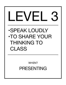 Class Volume Levels