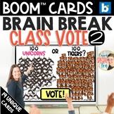 Class Vote 2 – 100th Day of School Edition Ice breaker BOO