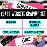 Class Website Graphics- Buttons, Headers, etc.