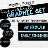 Class Website Graphics [GROWING BUNDLE] - GOOGLE SITES and