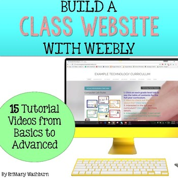 Class website with weebly tutorials   apps for teaching.