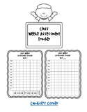 Weekly Assessment Tracker [FREEBIE]