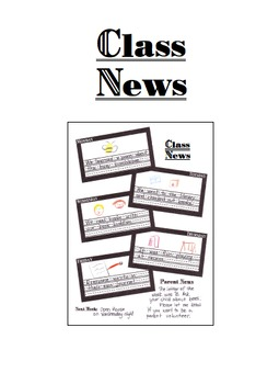 Class Weekly News