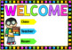Class Welcome Posters - School Kids - Editable