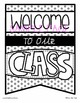Class Welcome with Names Banner Pack